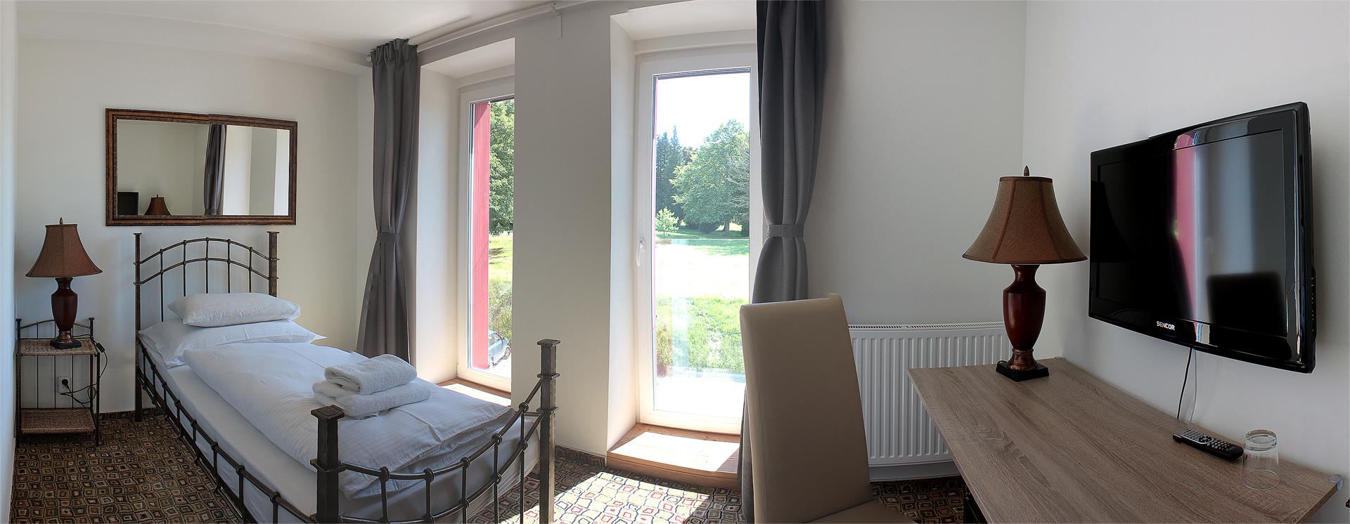 Hotel BouCZECH *** - jednolůžkový pokoj
